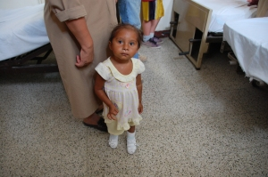 This little girl is now rehabilitated!