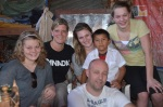 The Attema family & their Compassion child, Santos!