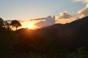 Sunset over El Rosario