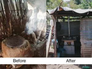 Stoves… before and after!