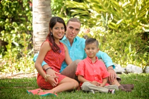 Zack, Amelia and Lisandro