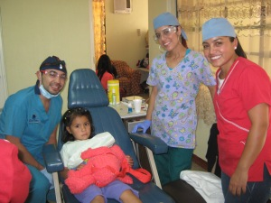 Our dental clinic where Zack and Amelia first met